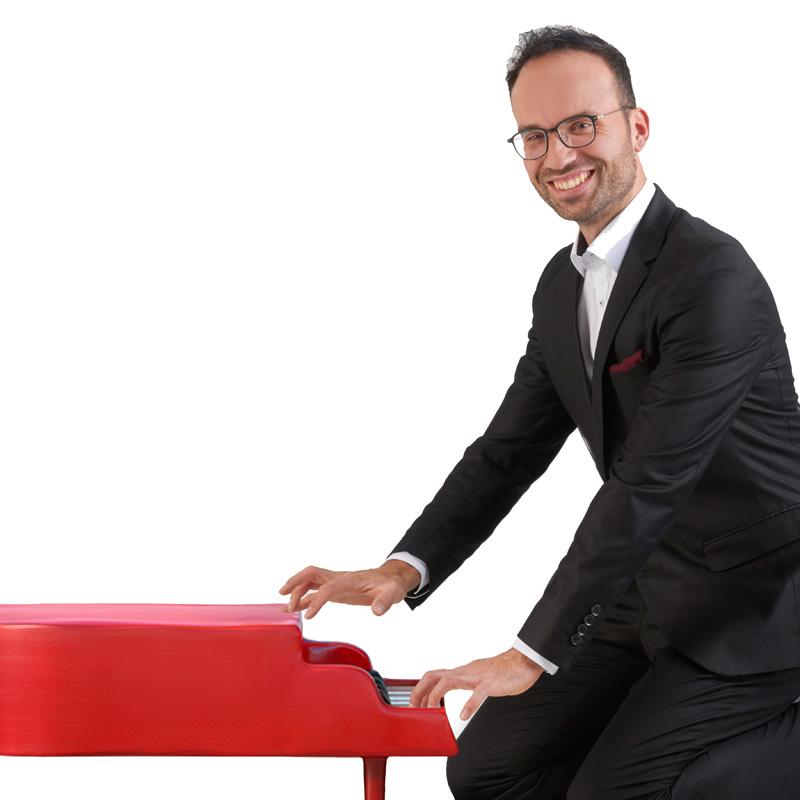 Clemens Müller, Klavier