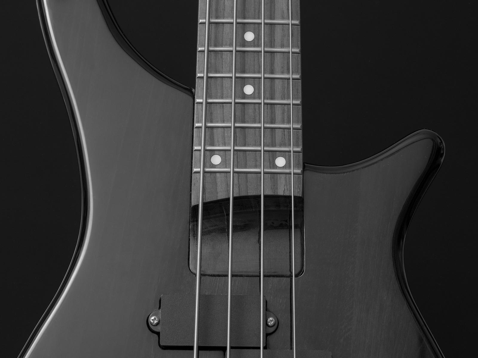 E-Bass (Auschnitt) - grau