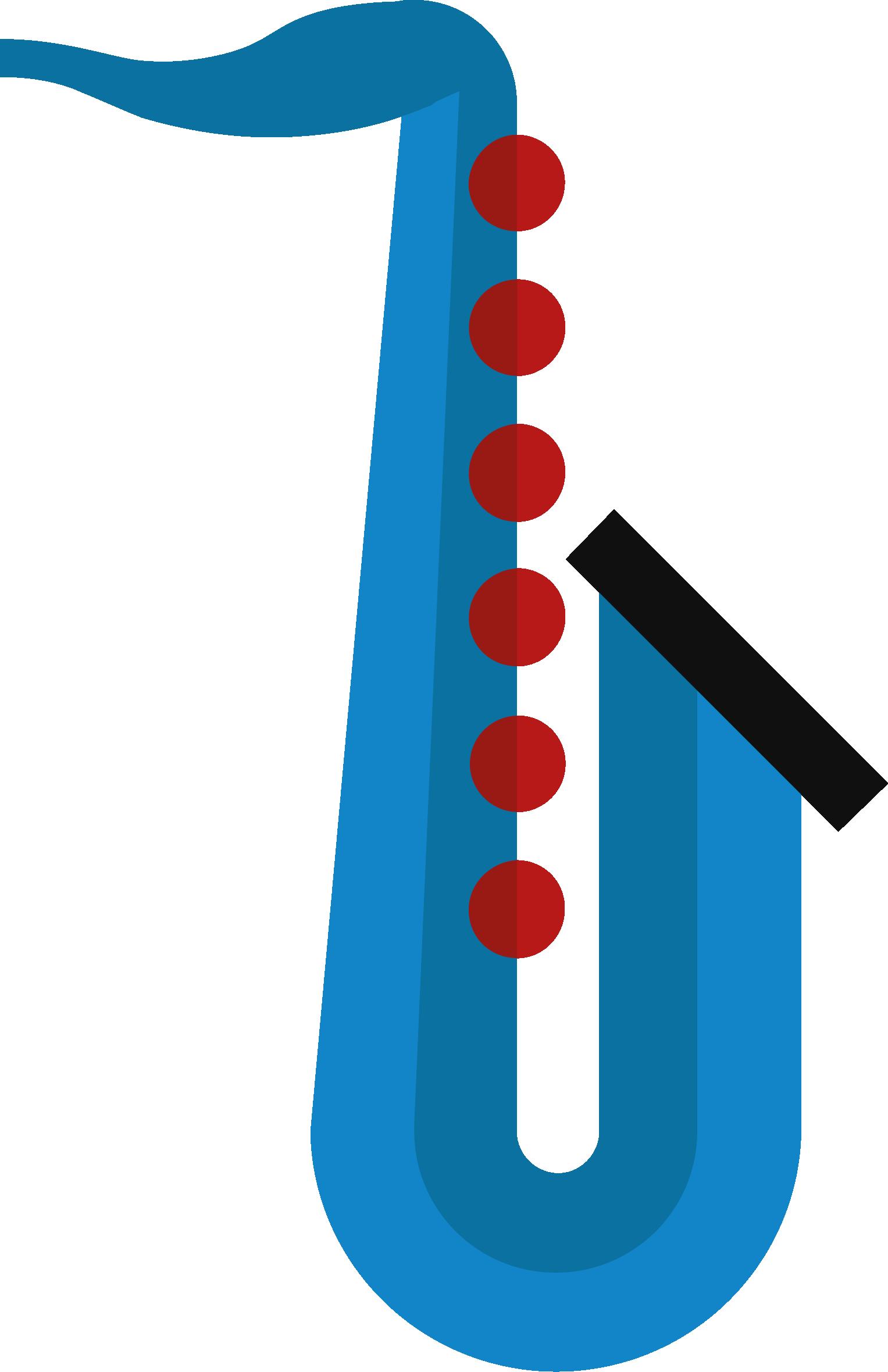 Instrumenten-Icon Saxophon