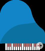 Instrumenten-Icon Klavier