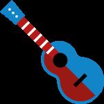 Instrumenten-Icon Gitarre / Ukulele