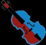 Instrumenten-Icon Geige