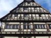 """""""Hoher Giebel"""", Musikschulgebäude (Ausschnitt Front oben)"""