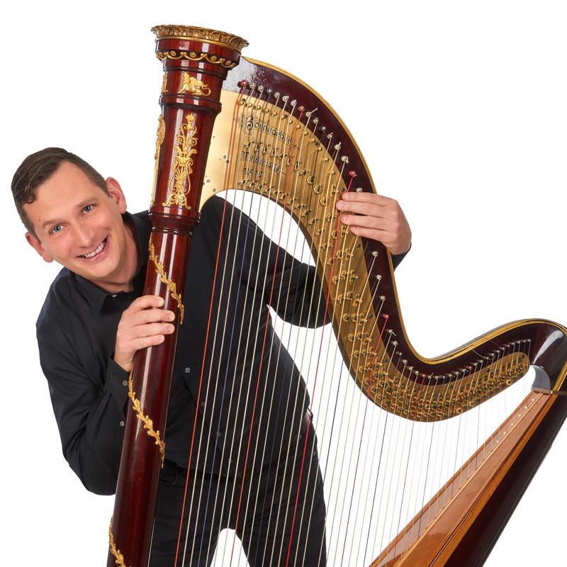 Jochen Stübenrath, Harfe