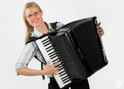 Daniela Fauser, Akkordeonlehrerin der Musikschule Horb