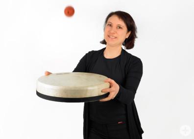 Cornelia Haag, Rhytmiklehrerin an der Musikschule Horb
