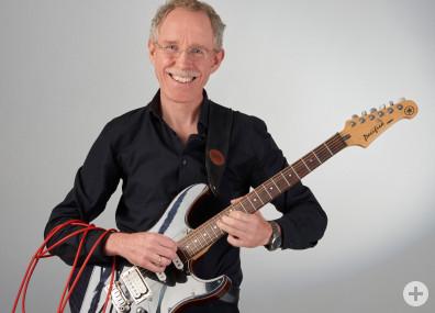 Christoph Schmitz, E-Gitarrenlehrer an der Musikschule Horb