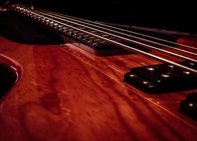 E-Bass (Ausschnitt)