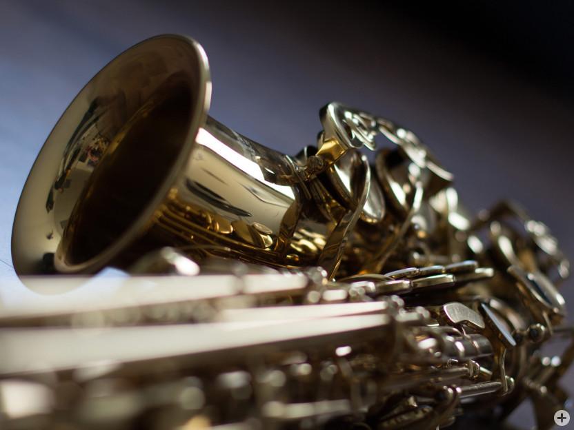 Saxophon (Ausschnitt)