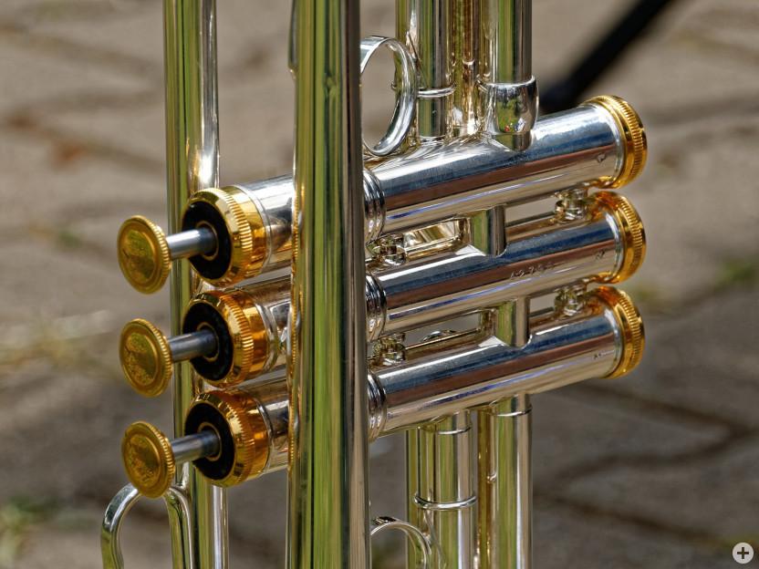 Trompete (Ausschnitt Ventile)