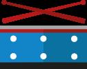 Instrumenten-Icon Trommerl