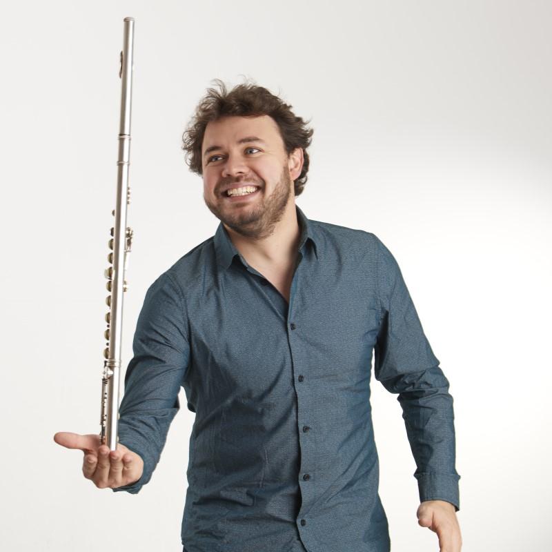 Jonas Ribeiro, Flöte