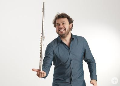 Jonas Ribeiro, Querflöte