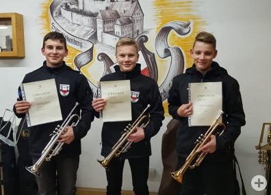 Trompetentrio - 2. Preis beim Regionalwettbewerb Jugend musiziert