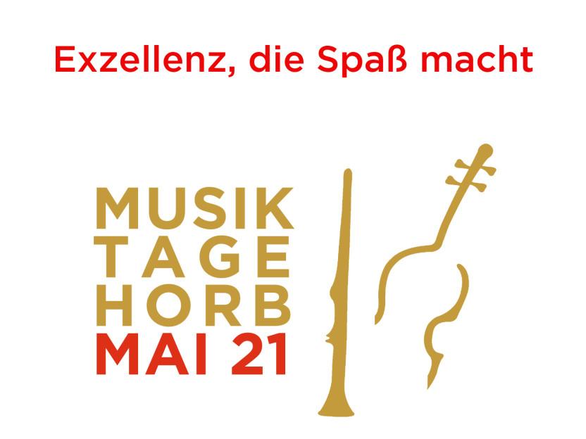 Exzellenz, die Spaß macht - Musiktage Horb Mai 21