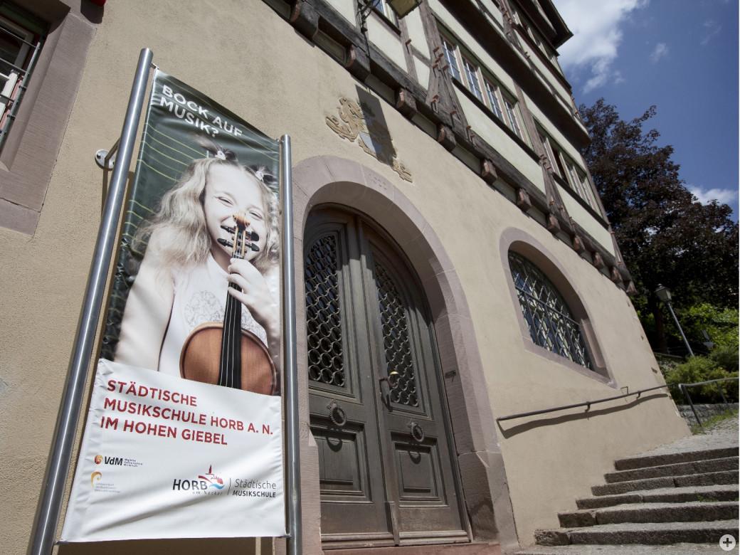 """""""Hoher Giebel"""" Musikschulgebäude - Portal"""